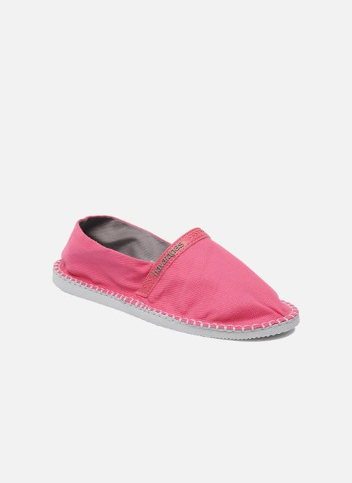 Espadrilles Havaianas Origine W Pink detailed view/ Pair view