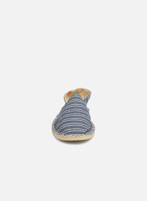 Espadrilles Havaianas Origine W Bleu vue portées chaussures