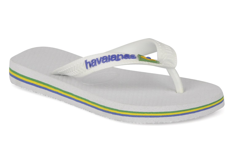 Infradito Havaianas Brasil Logo E Bianco vedi dettaglio/paio