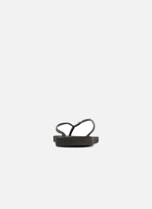 Flip flops Havaianas Slim Crystal Glamour Black view from the right