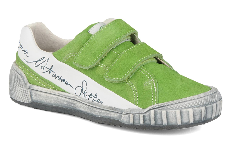 Sneakers Naturino Mistral Groen detail