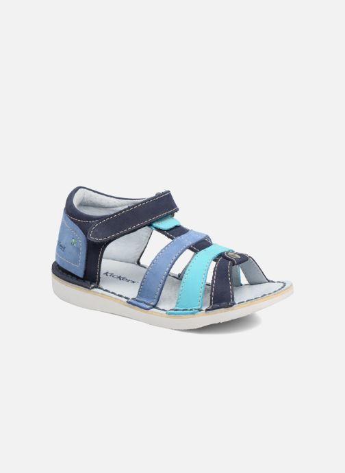 Sandalen Kickers Woopy blau detaillierte ansicht/modell