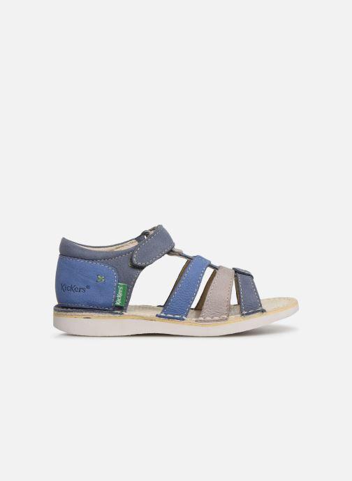 Sandales et nu-pieds Kickers Woopy Bleu vue derrière