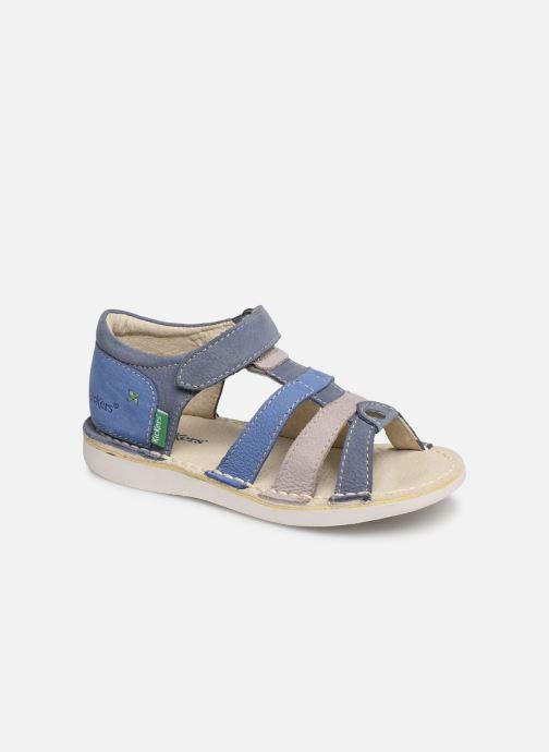 Sandales et nu-pieds Kickers Woopy Bleu vue détail/paire