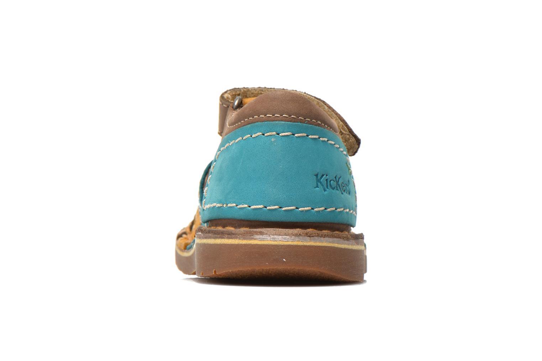 Sandaler Kickers Woopy Multi Se fra højre