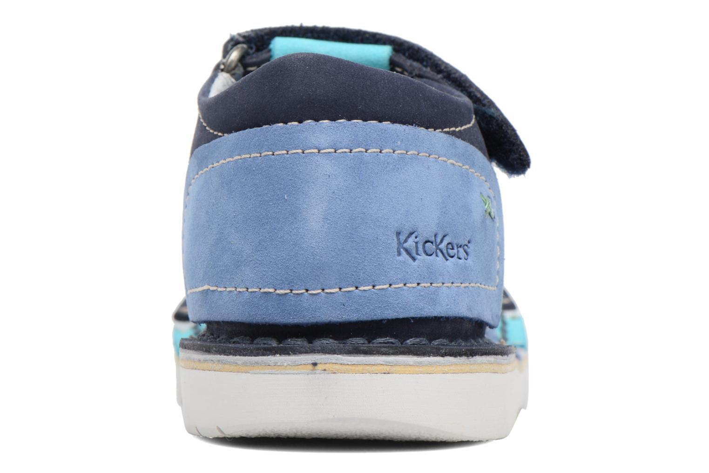 Sandali e scarpe aperte Kickers Woopy Azzurro immagine destra
