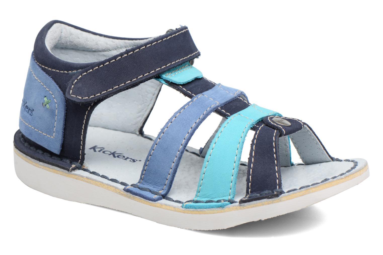 Sandali e scarpe aperte Kickers Woopy Azzurro vedi dettaglio/paio