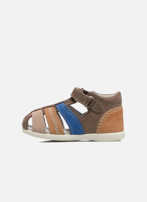 Sandalen Kickers Babysun Bruin voorkant