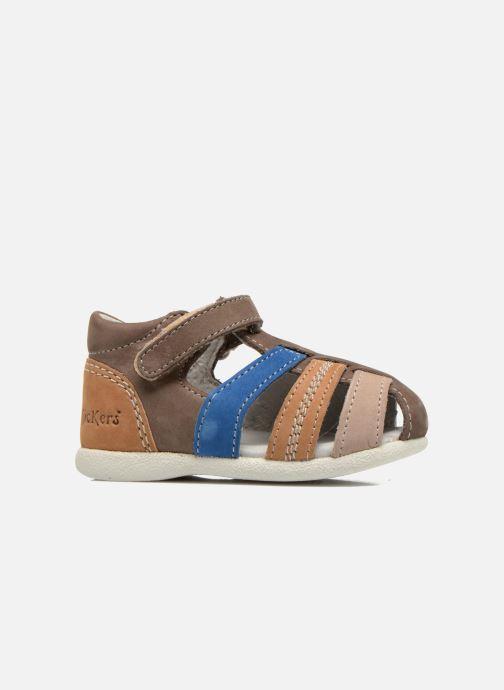 Sandalen Kickers Babysun Bruin achterkant