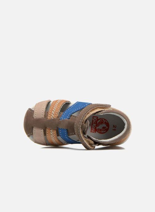 Sandalen Kickers Babysun Bruin links