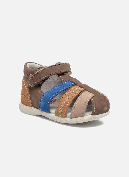 Sandales et nu-pieds Kickers Babysun Marron vue détail/paire