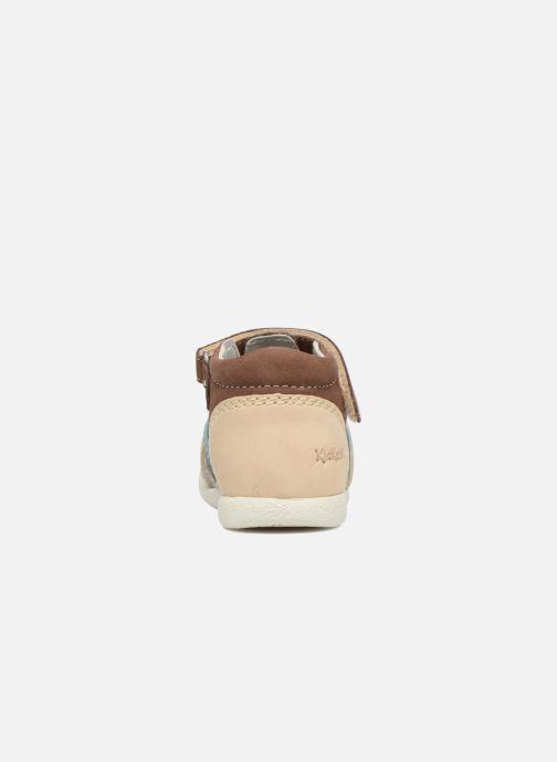 Sandali e scarpe aperte Kickers Babysun Marrone immagine destra