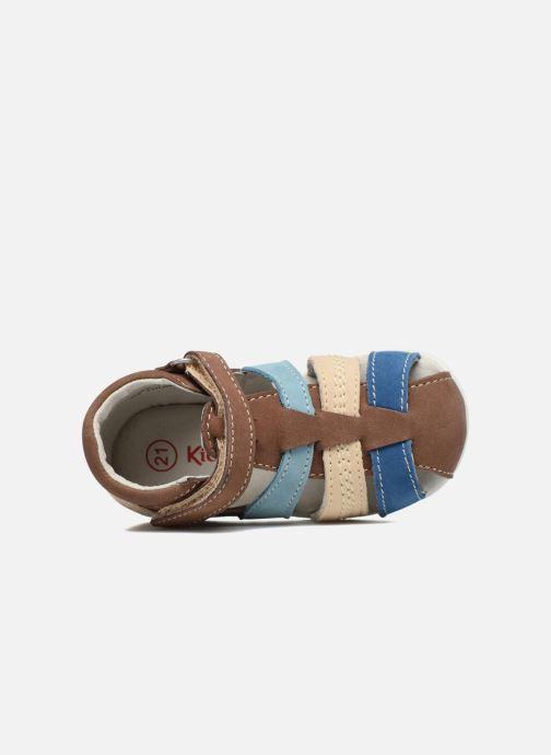 Sandali e scarpe aperte Kickers Babysun Marrone immagine sinistra