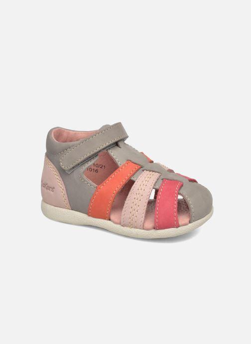 Sandales et nu-pieds Kickers Babysun Gris vue détail/paire