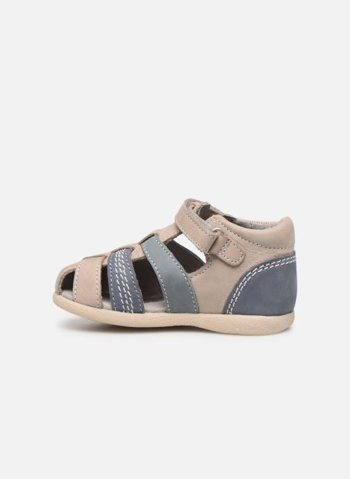 Sandalen Kickers Babysun grau ansicht von vorne