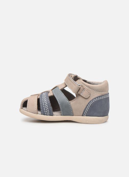 Sandales et nu-pieds Kickers Babysun Gris vue face