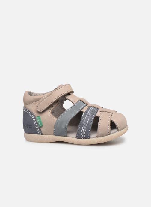 Sandalen Kickers Babysun grau ansicht von hinten