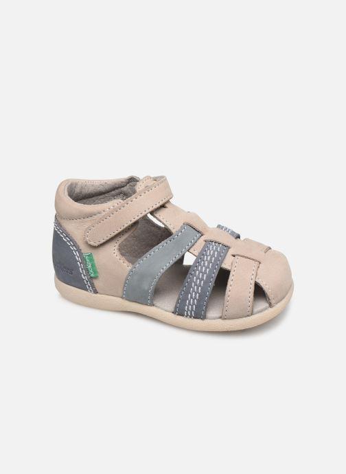 Sandalen Kickers Babysun grau detaillierte ansicht/modell