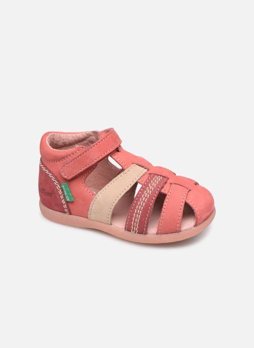 Sandalias Kickers Babysun Rosa vista de detalle / par