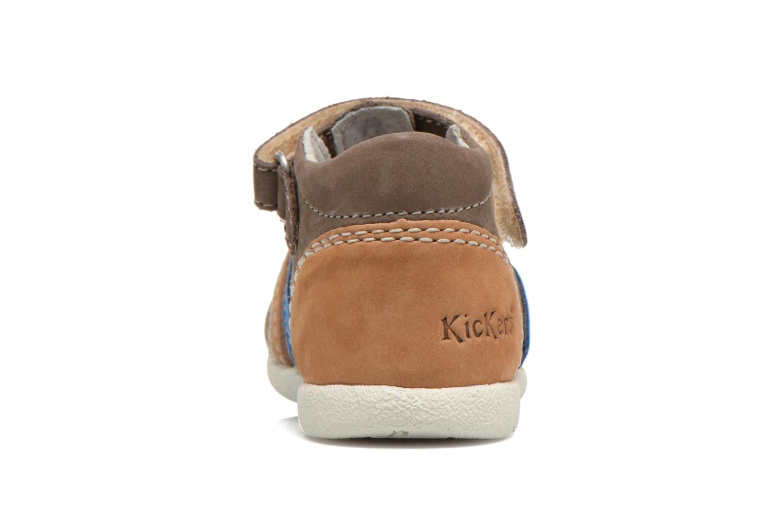 Sandales et nu-pieds Kickers Babysun Marron vue droite