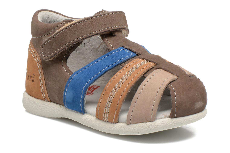 b808ed4c32443 Kickers Babysun (Marron) - Sandales et nu-pieds chez Sarenza (249624)