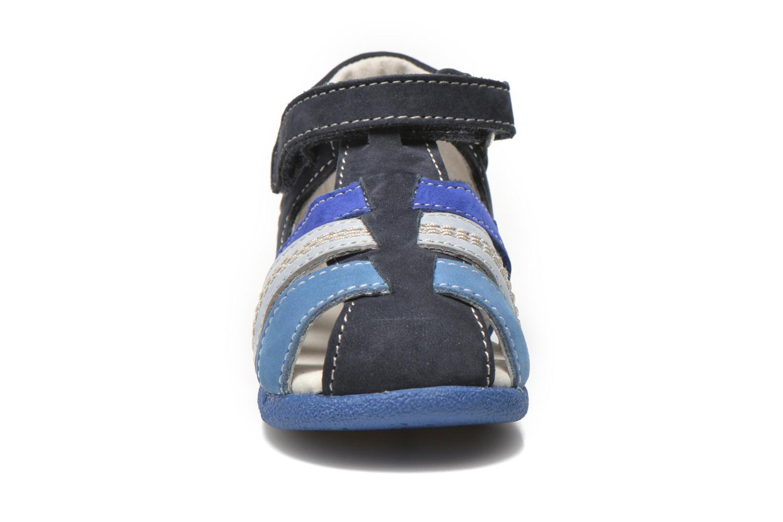 Sandales et nu-pieds Kickers Babysun Bleu vue portées chaussures