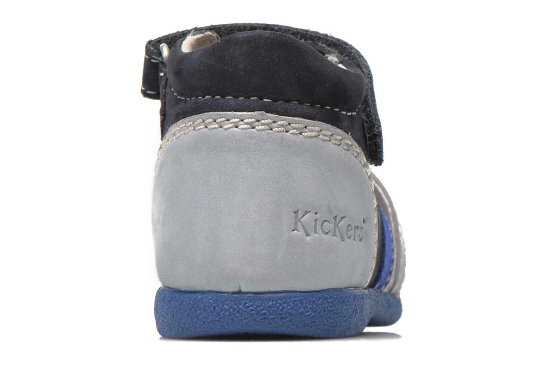 Sandales et nu-pieds Kickers Babysun Bleu vue droite