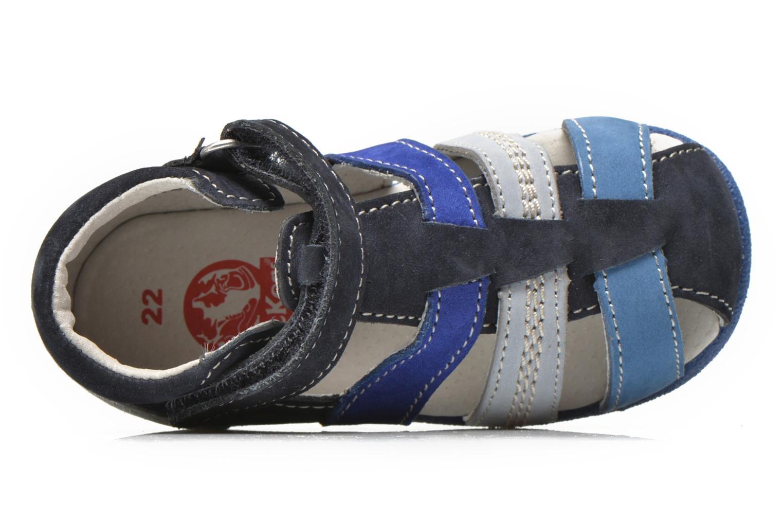 Sandales et nu-pieds Kickers Babysun Bleu vue gauche