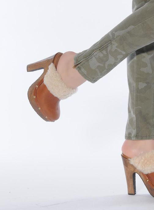 Mules & clogs Studio TMLS 18696xy Brown view from underneath / model view