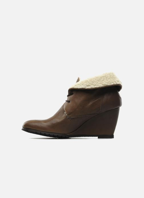 Ankle boots Eden Mimia Brown front view