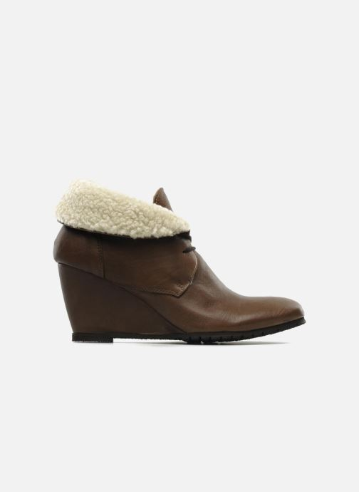 Ankle boots Eden Mimia Brown back view
