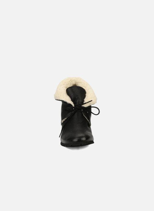 Bottines et boots Eden Mimia Noir vue portées chaussures