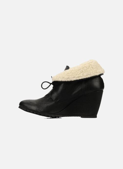 Bottines et boots Eden Mimia Noir vue face