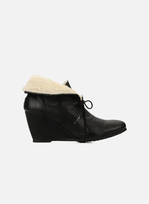 Bottines et boots Eden Mimia Noir vue derrière