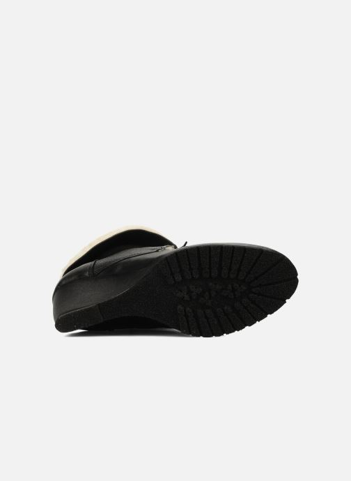 Bottines et boots Eden Mimia Noir vue haut