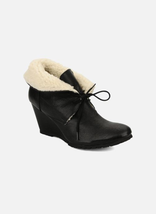 Ankelstøvler Eden Mimia Sort detaljeret billede af skoene