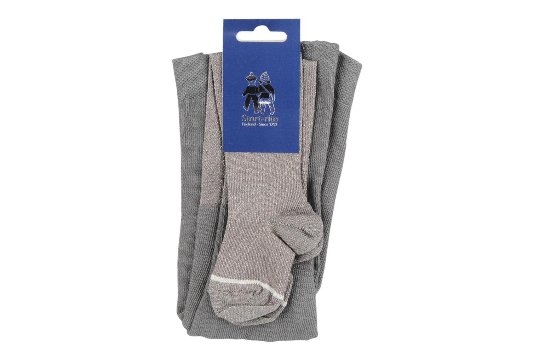 Socken & Strumpfhosen Start Rite Tights lurex grau ansicht von rechts