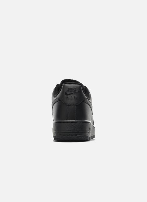 Deportivas Nike Air force 1 '07 le Negro vista lateral derecha