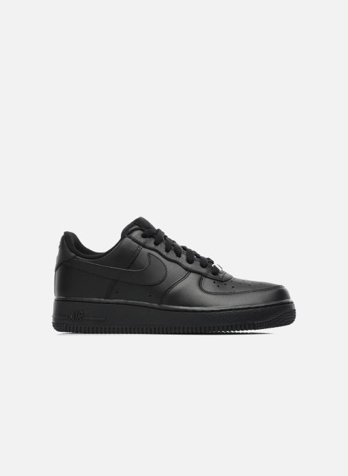 Trainers Nike Air force 1 '07 le Black back view