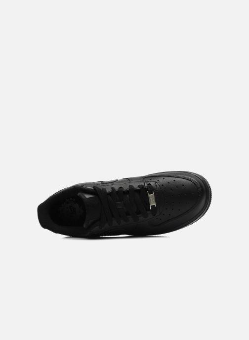 Sneaker Nike Air force 1 '07 le schwarz ansicht von links