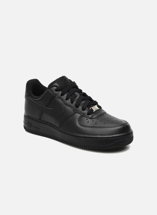 Sneaker Nike Air force 1 '07 le schwarz detaillierte ansicht/modell
