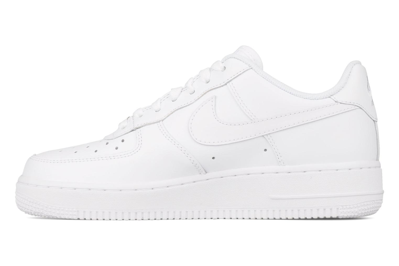Sneakers Nike Air force 1 '07 le Wit voorkant