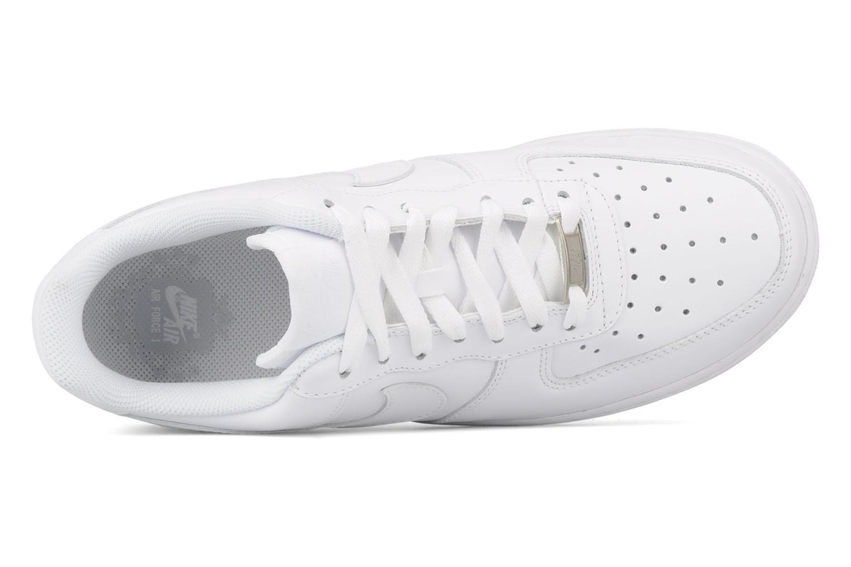 Sneaker Nike Air force 1 '07 le weiß ansicht von links