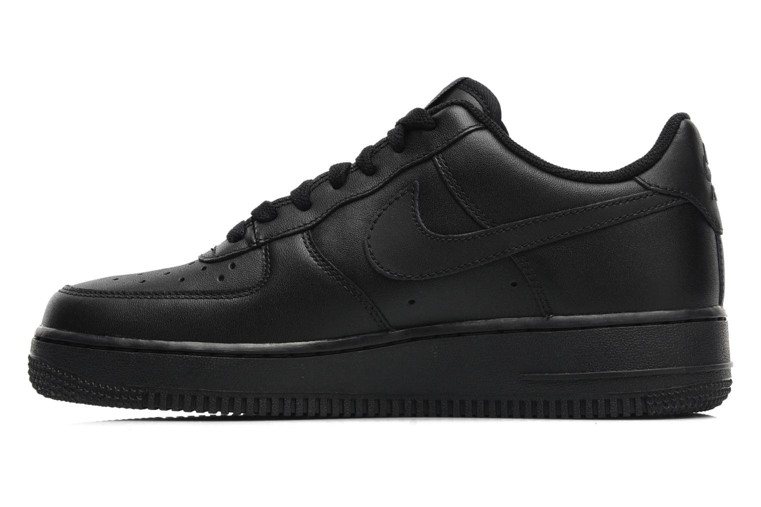 Baskets Nike Air force 1 '07 le Noir vue face