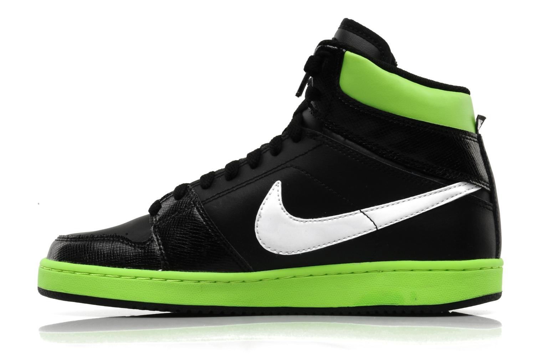 Baskets Nike Nike backboard high si bg Noir vue face