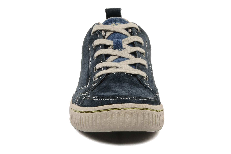 Baskets Caterpillar Modesto Bleu vue portées chaussures