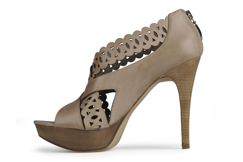 Sandales et nu-pieds Guess Ost Beige vue face