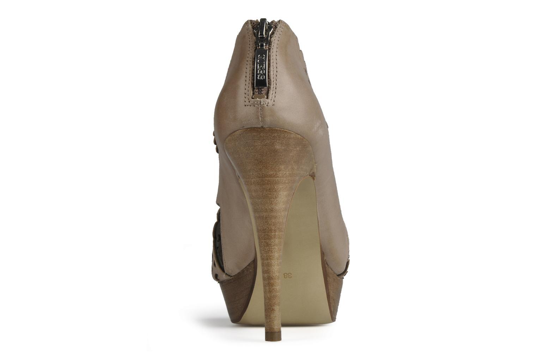 Sandales et nu-pieds Guess Ost Beige vue droite
