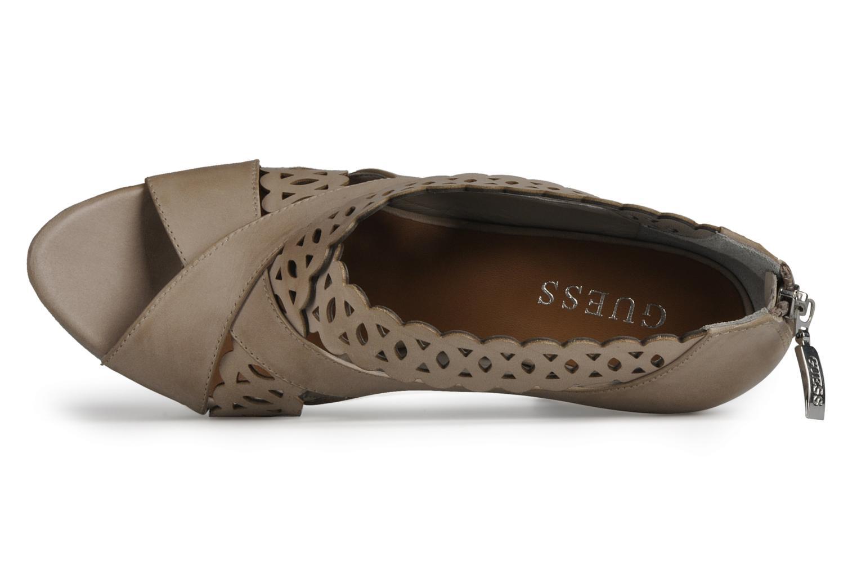 Sandales et nu-pieds Guess Ost Beige vue gauche