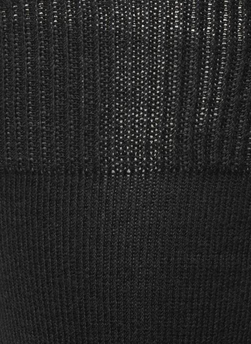 Chaussettes et collants Sarenza Wear Chaussettes Homme pack de 3 Fil d'ecosse unies Noir vue gauche